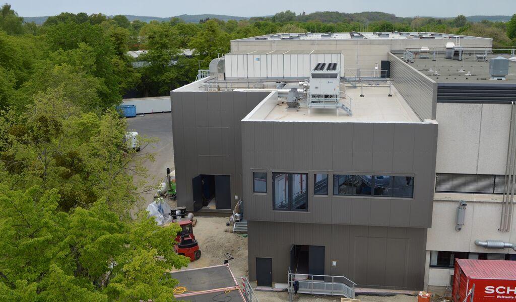 Allphamed Pharbil GmbH, Erweiterung Feststoffproduktion